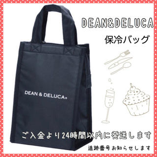 ディーンアンドデルーカ(DEAN & DELUCA)のディーン&デルーカ S 黒 保冷バッグ エコバッグ トートバッグ 離乳食入れに(エコバッグ)