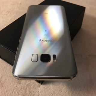ギャラクシー(galaxxxy)のSIMフリー Galaxy S8 Plus 64GB シルバー(スマートフォン本体)