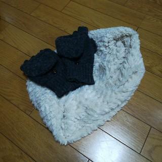 ムジルシリョウヒン(MUJI (無印良品))の無印手袋、すヌードセット(手袋)