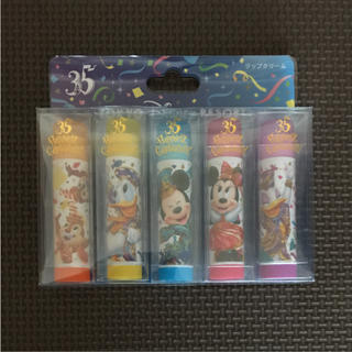 Disney - 【新品】東京ディズニーリゾート 35周年 リップクリーム