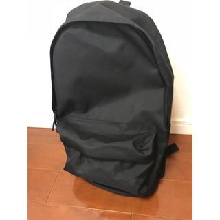 ムジルシリョウヒン(MUJI (無印良品))の無印良品 リュック ナイロン ブラック 未使用(リュック/バックパック)