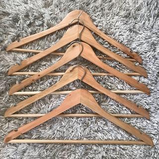 ニトリ - 木製ハンガー