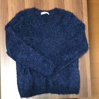 ショコラフィネローブ(chocol raffine robe)のシャギーニット(ニット/セーター)