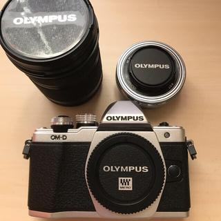 オリンパス(OLYMPUS)のOLYMPUS OM-D E-M10 MarkⅡ 中古(ミラーレス一眼)