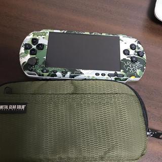 PlayStation Portable - Psp 3000 メタルギア