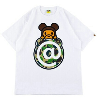 メディコムトイ(MEDICOM TOY)のA BATHING APE  BE@RBRICK Tシャツ(Tシャツ/カットソー(半袖/袖なし))