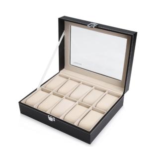 腕時計収納ケース 腕時計収納ボックス コレクションケース10本用(その他)