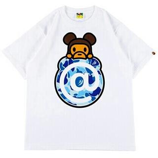 MEDICOM TOY - A BATHING APE    BE@RBRICK   Tシャツ