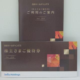 西武HD・西武鉄道株主優待/施設利用優待券1冊/ゆうパケット込(その他)