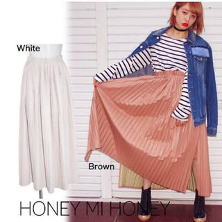 ハニーミーハニー(Honey mi Honey)のハニーミーハニー HONEY MI HONEY  プリーツ ロングスカート(ロングスカート)