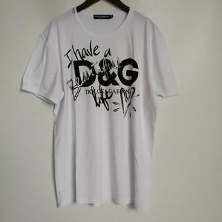 ディーアンドジー(D&G)のDOLCE&GABBANA tシャツ 52(Tシャツ(半袖/袖なし))