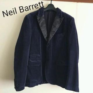 ニールバレット(NEIL BARRETT)のニールバレット 美品 メンズ M ベロア 秋冬 ドレス テーラード ジャケット(テーラードジャケット)