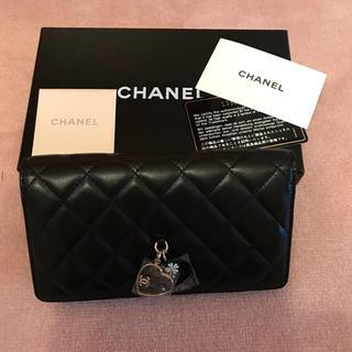 シャネル(CHANEL)のCHANEL チャーム付き 長財布(財布)