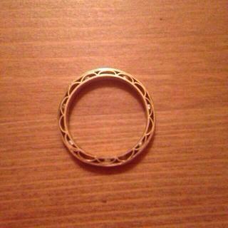 アッシュペーフランス(H.P.FRANCE)の特別技法 ミルフィーユ ダイヤリング(リング(指輪))