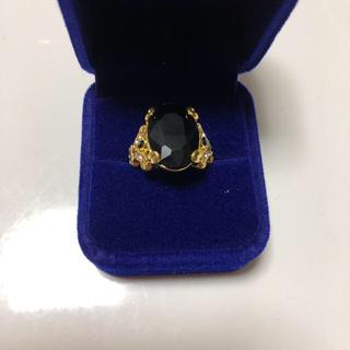 ゴージャスリング  ブラック(リング(指輪))