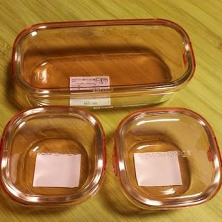 パイレックス(Pyrex)のパイレックス保存容器 ピンク(容器)