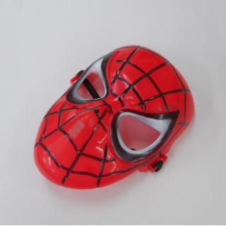 新品 スパーダーマン レッド マスク 仮装 コスプレ お面 ハロウィン ツール(小道具)