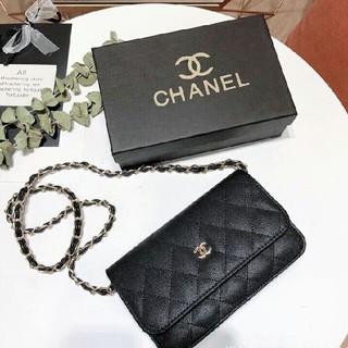 シャネル(CHANEL)のCHANEL/シャネル ココボタン 長財布 ブラック(財布)