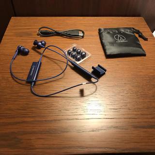 オーディオテクニカ(audio-technica)のaudio-tecnica bluetoothイヤホンATH-CKS550XBT(ヘッドフォン/イヤフォン)