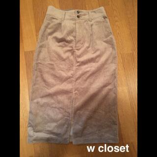 ダブルクローゼット(w closet)のw closet タイトスカート(ひざ丈スカート)