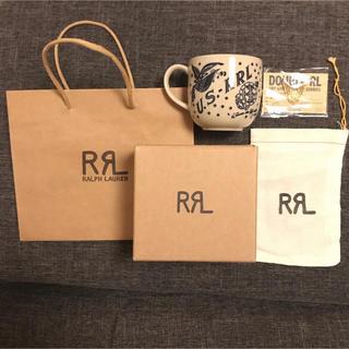 ダブルアールエル(RRL)の【新品 超希少】非売品 RRL ダブルアールエル マグカップ ピンバッジ セット(その他)