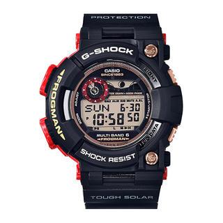 ジーショック(G-SHOCK)のフロッグマン/誕生35周年記念モデルマグマオーシャン/GWF-1035F-1JR(腕時計(デジタル))