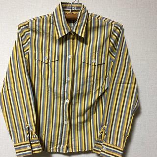 CHEZ TOI ストライプシャツ