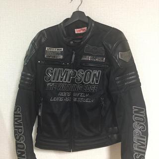 シンプソン(SIMPSON)のシンプソンメッシュジャケット(ライダースジャケット)