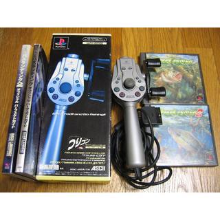 プレイステーション(PlayStation)のPS つりコン バスランディング 攻略本 セット(家庭用ゲームソフト)