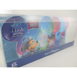ディズニー(Disney)の◇未使用 極美品 ディズニーシー 15周年 プレート 4枚セット◇(プレート/茶碗)