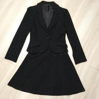 ネットディマミーナ(NETTO di MAMMINA)のクリーニング済☆【NETTO di MAMMINA 】黒スーツ(スーツ)
