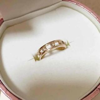 サマンサティアラ(Samantha Tiara)のサマンサティアラ リングk10 ピンクゴールド(リング(指輪))