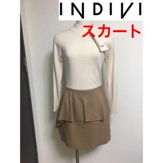 インディヴィ(INDIVI)のINDIVI ひざ上スカート(ミニスカート)