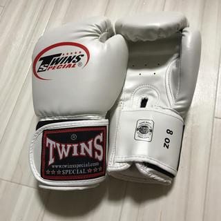ボクシンググローブ 白 8オンス rrr様専用(ボクシング)