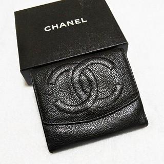シャネル(CHANEL)の美品!シャネル  キャビア  デカココマーク  財布(財布)