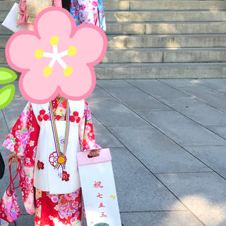 京都 花ひめ 3歳 着物セット 美品(和服/着物)