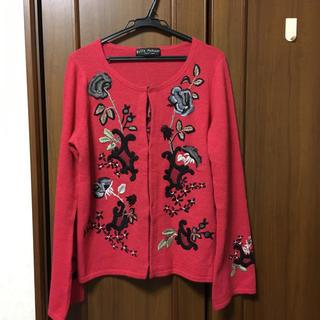 ケイタマルヤマ(KEITA MARUYAMA TOKYO PARIS)のケイタマルヤマ 刺繍カーディガン(カーディガン)