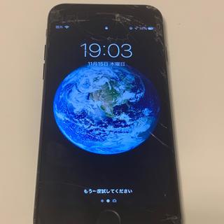 アイフォーン(iPhone)のiphone7 black 32GB(スマートフォン本体)
