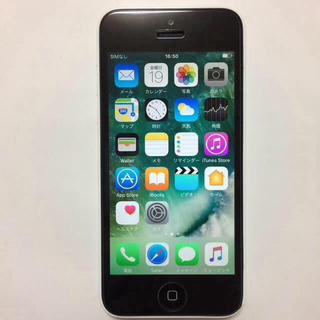 アイフォーン(iPhone)の④中古 Softbank iPhone5c 32gb(スマートフォン本体)