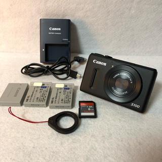 キヤノン(Canon)のCanon デジタルカメラ PowerShot S100(コンパクトデジタルカメラ)