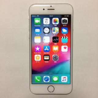 アイフォーン(iPhone)の①中古美品 AU iPhone6 16gb (スマートフォン本体)