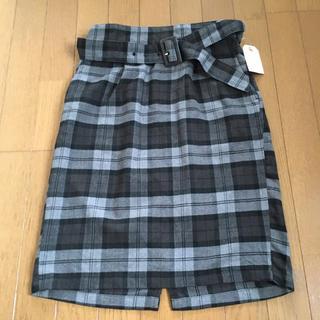 ショコラフィネローブ(chocol raffine robe)のショコラフィネローブ 新品 スカート ZARA テチチ ロペピクニック 好きにも(ひざ丈スカート)