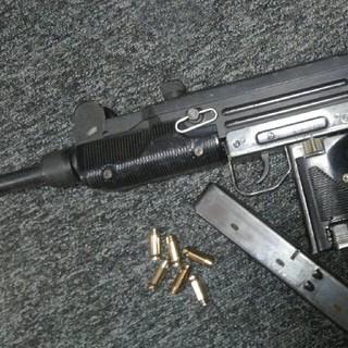 マルシン 火薬キャップ排莢式モデルガン UZI  ウジ ウージー(モデルガン)