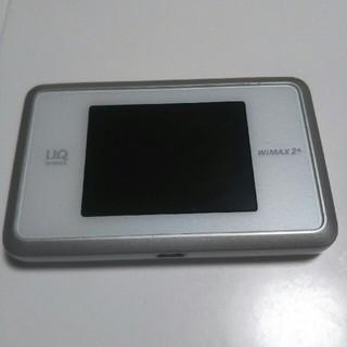 エヌイーシー(NEC)のWiMAX2+ Speed Wi-fi NEXT WX03(PC周辺機器)