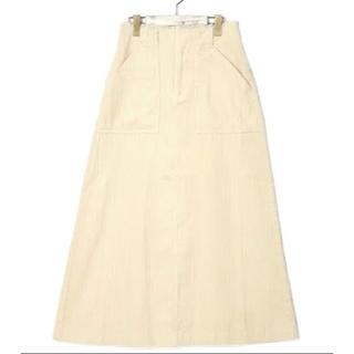 ダブルクローゼット(w closet)のコーデュロイ スカート wcloset(ロングスカート)