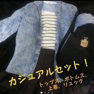 ショコラフィネローブ(chocol raffine robe)のカジュアルセットコーデ お出かけ4点セット(セット/コーデ)