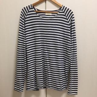 ヌーディジーンズ(Nudie Jeans)のヌーディージーンズ カットソー ボーダー tシャツ (リプレイ、ビームス好きに)(Tシャツ/カットソー(七分/長袖))