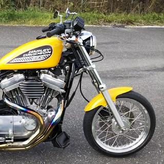 ハーレーダビッドソン(Harley Davidson)のXLH883(車体)