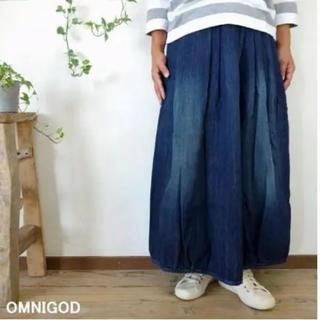 オムニゴッド(OMNIGOD)のOMNIGOD ギャザースカート(ロングスカート)