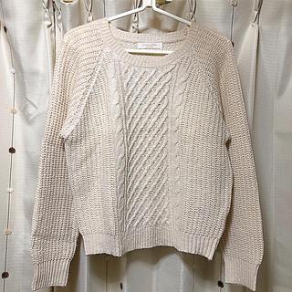 ショコラフィネローブ(chocol raffine robe)のchocol raffine アーガイルニット(ニット/セーター)